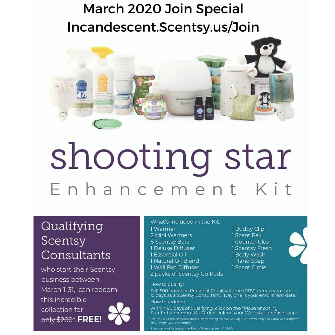 March 2020 Join Special Shooting Star Kit