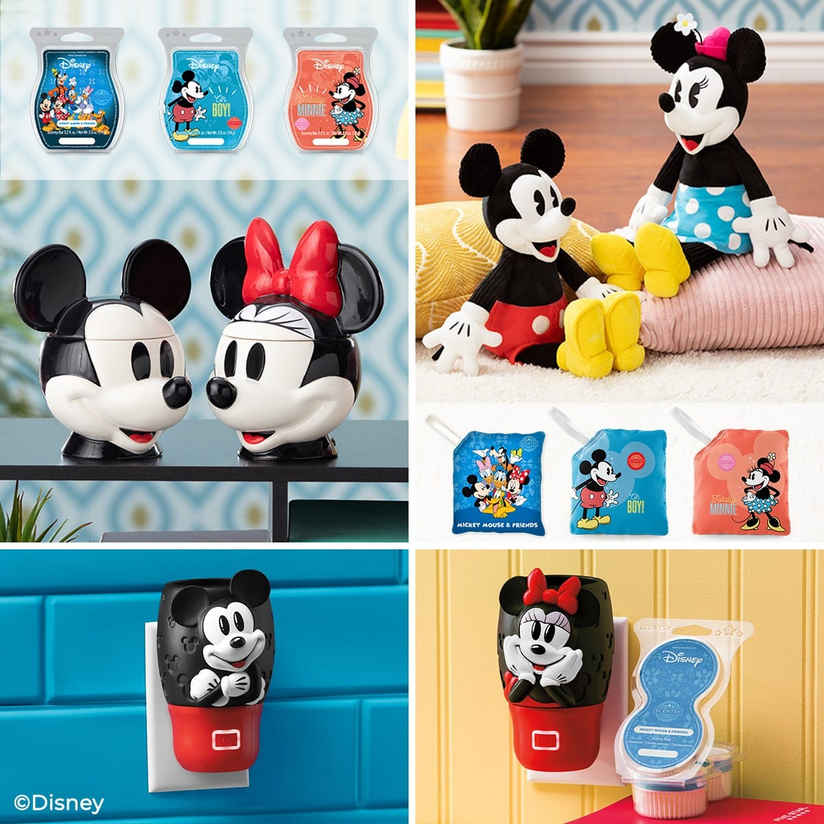 Minnie Mouse Scentsy Wall Fan Diffuser 11 | The Disney Collection From Scentsy | New Fall 2021 Products