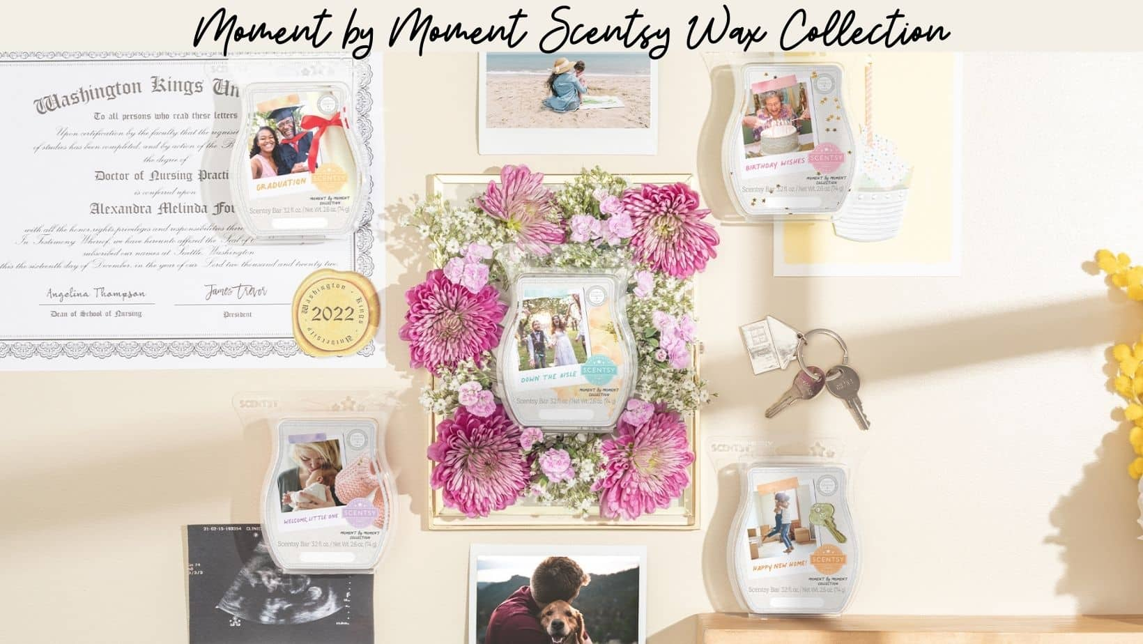 Moment by Moment Scentsy Wax Collection 1