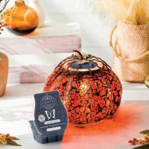 Mosaic Pumpkin Scentsy Warmer 2021 October | Scentsy October 2021 Warmer & Scent of the Month – Mosaic Pumpkin & Fairy Tale Pumpkin | Incandecent.Scentsy.us