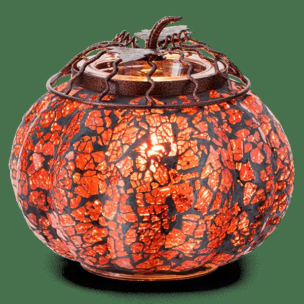 Mosaic Pumpkin Scentsy Warmers 1