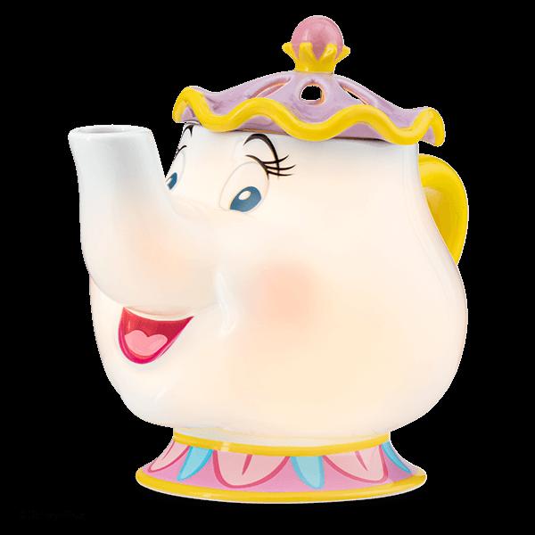 Mrs. Potts Scentsy Warmer Glow | NEW! Mrs. Potts Teapot Scentsy Warmer | Disney Beauty & The Beast Scentsy Collection