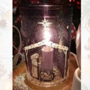 NATIVITY NIGHT SCENTSY WARMER