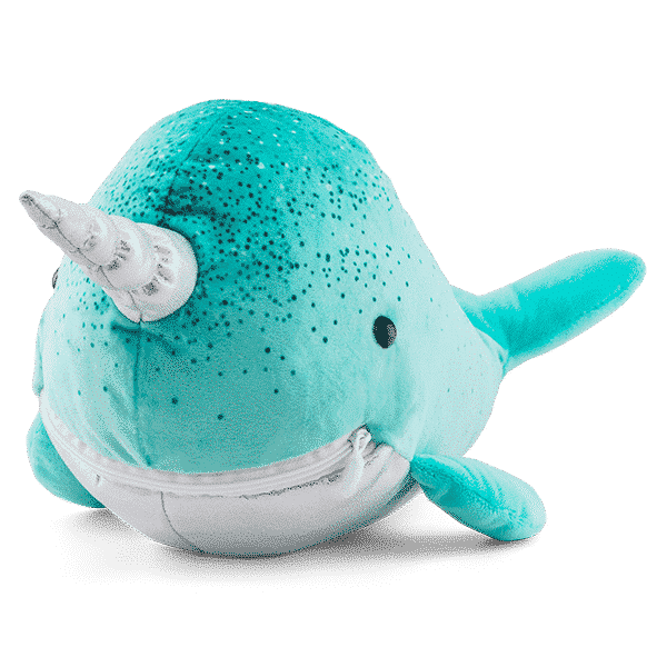 NELSON THE NARWHAL SCENTSY BUDDY FRONT ISO
