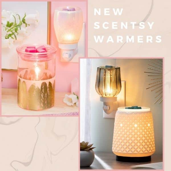 NEW SCENTSY WARMERS 2021