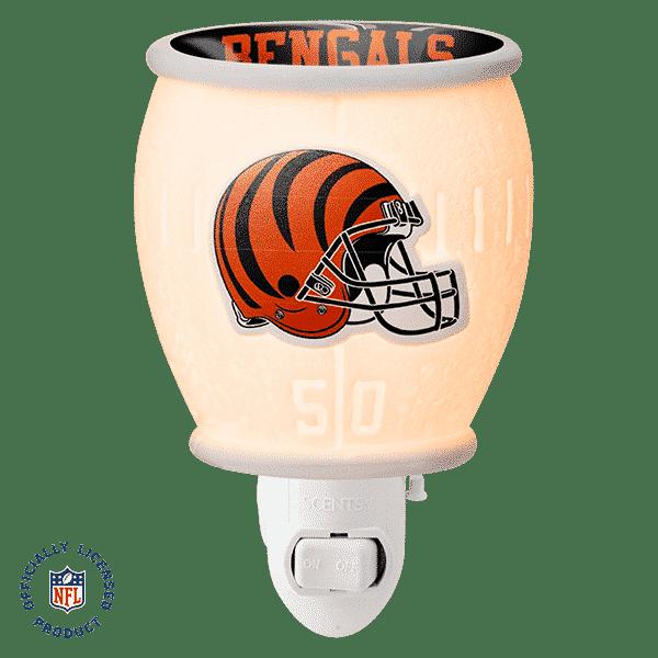 NFL CINCINNATI BENGALS MINI SCENTSY WARMER