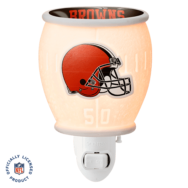 NFL Collection – Cleveland Browns Scentsy Mini Warmer