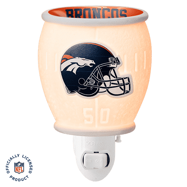 NFL Collection – Denver Broncos Scentsy Mini Warmer