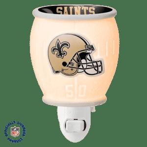 NFL Collection – New Orleans Saints Scentsy Mini Warmer | NEW! NFL NEW ORLEANS SAINTS - MINI SCENTSY WARMER | Shop Scentsy | Incandescent.Scentsy.us