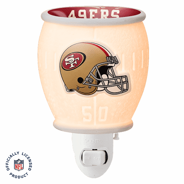 NFL Collection – San Francisco 49ers Scentsy Mini Warmer