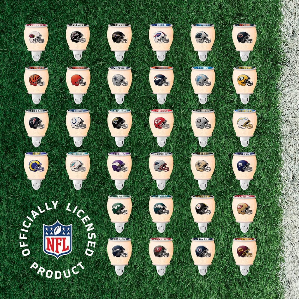 NFL MINI SCENTY WARMERS COLLECTION