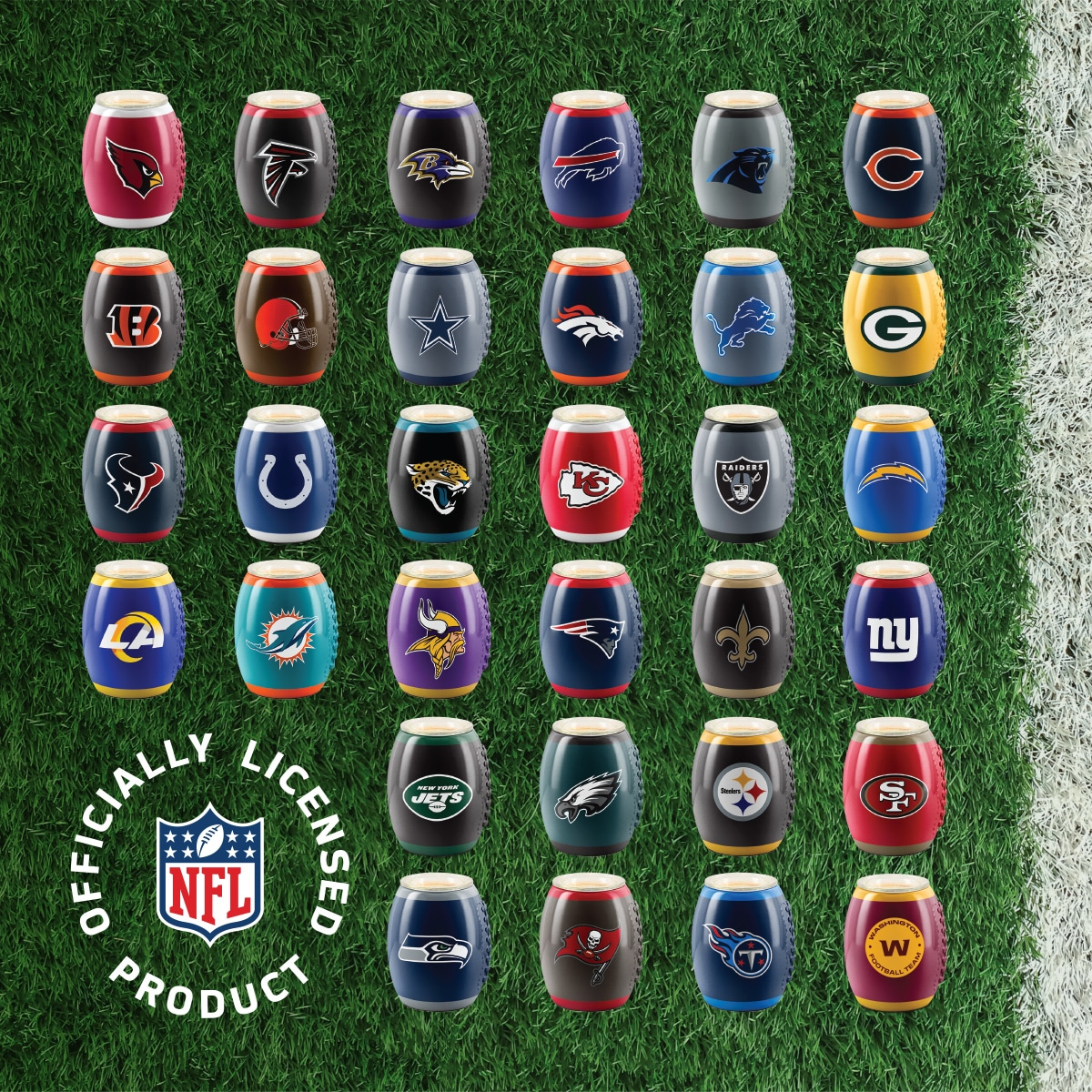 NFL WARMER FULL SIZE SCENTSY COLLECTION 1