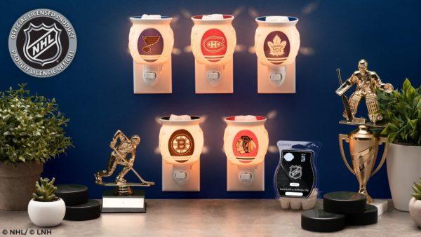 NHL COLLECTION MINI WARMER PRESALE | NHL®: Philadelphia Flyers ® - Scentsy Mini Warmer