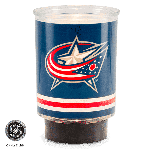 NHL COLUMBUS BLUE JACKETS SCENTSY WARMER