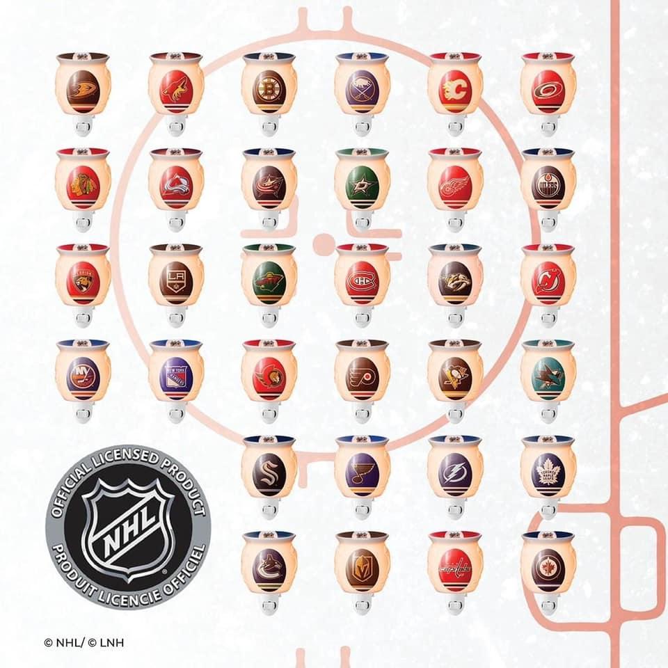 NHL MINI SCENTSY WARMER