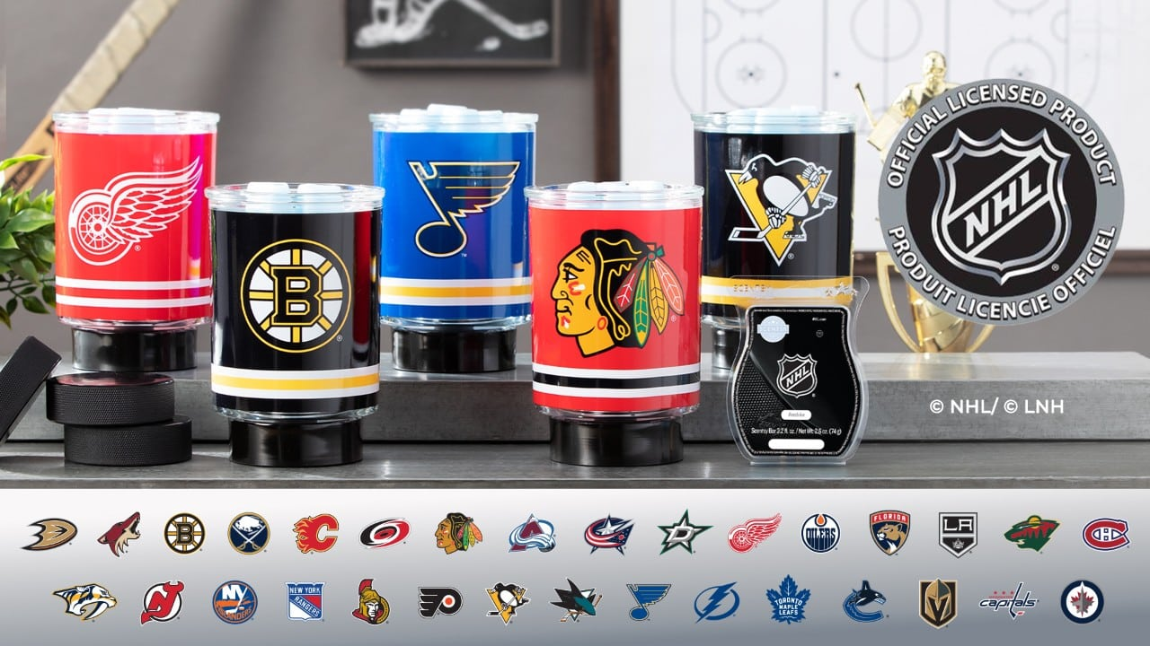 NHL SCENTSY WARMERS