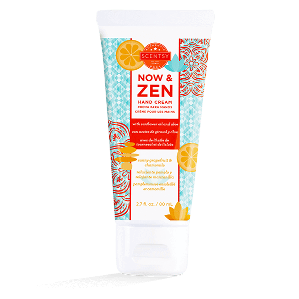 NOW & ZEN SCENTSY HAND CREAM