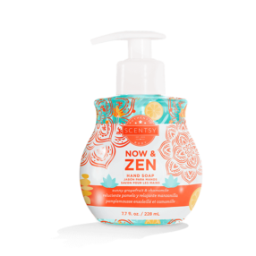 NOW & ZEN SCENTSY HAND SOAP