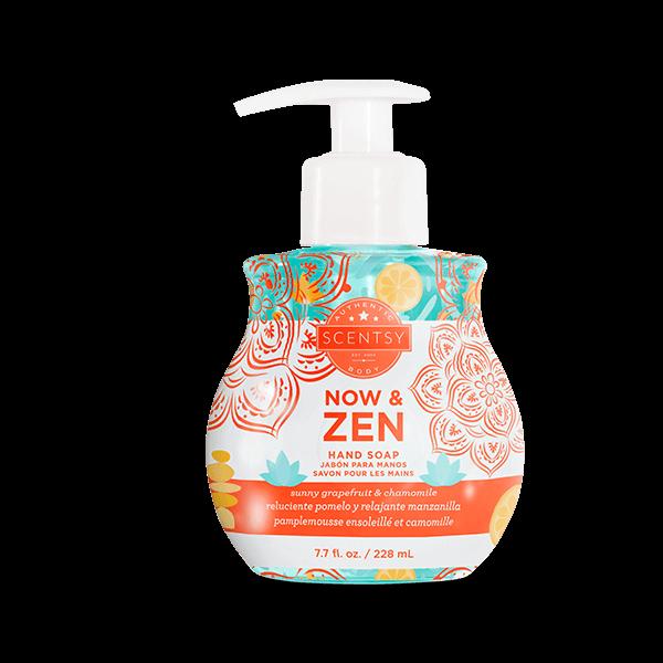 NOW & ZEN SCENTSY HAND SOAP | NEW! NOW & ZEN SCENTSY HAND SOAP | Shop Scentsy | Incandescent.Scentsy.us