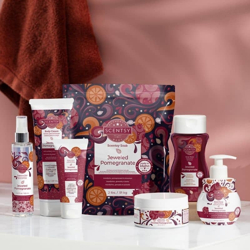 New Scentsy Body Care 2021 FP