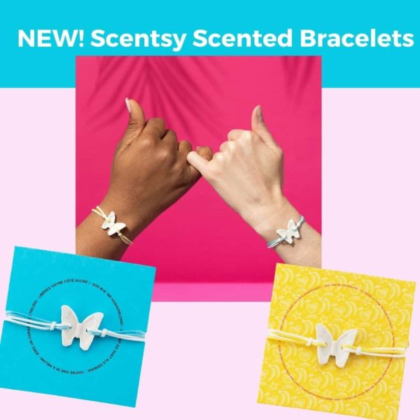 New Scentsy Scented Bracelets 1 | NEW! Scentsy Scented Bracelet – Blue Agave & Melon | Summer 2021 | Incandescent.Scentsy.us