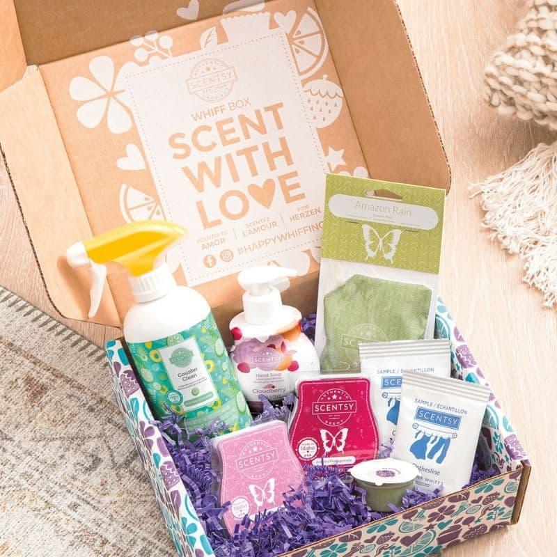 New Scentsy Whiff Box Fall 2021 FP