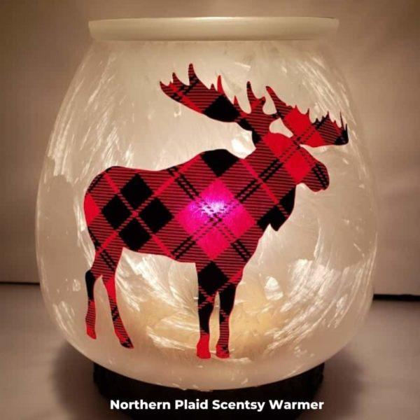 Northern Plaid Scentsy Warmer