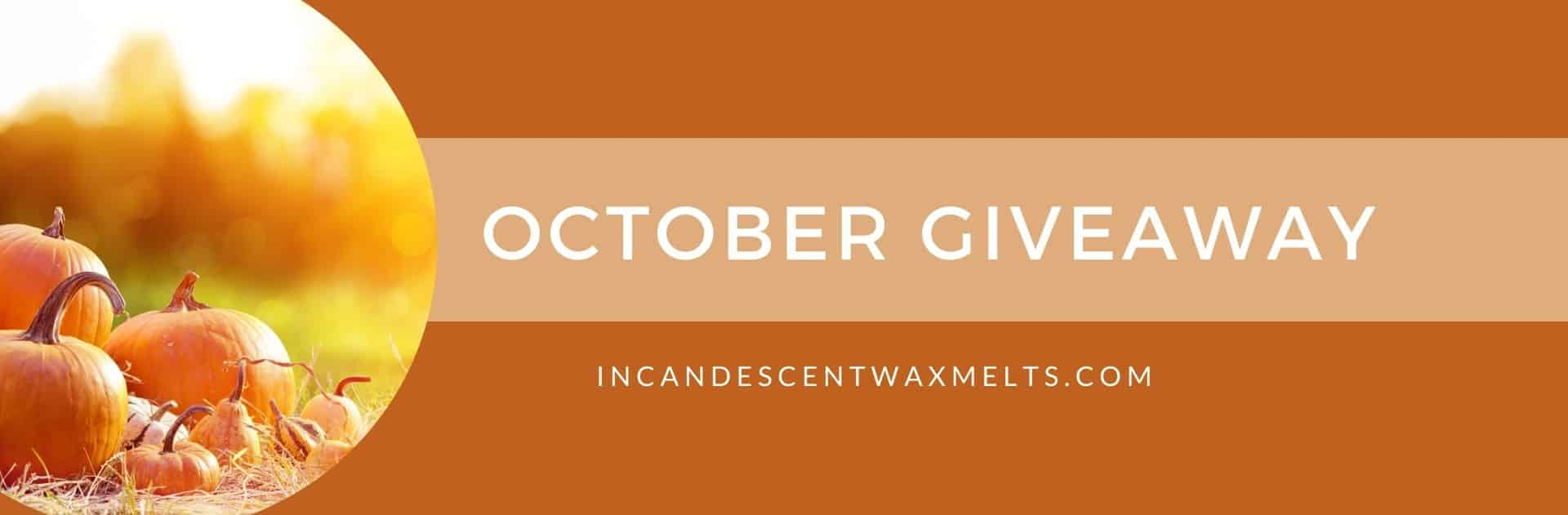 OCTOBER 2020 GIVEAWAY