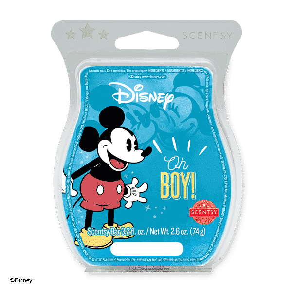 NEW! Oh Boy! Mickey Mouse Scentsy Bar | Incandescent.Scentsy.us