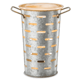 OLIVE BUCKET SCENTSY WARMER