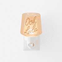 OOH LA LA SCENTSY MINI WARMER GLOW