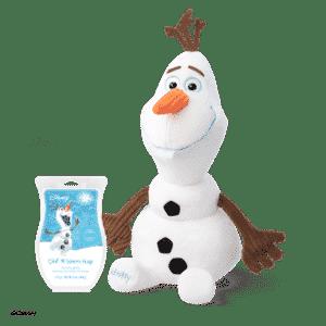 SCENTSY OLAF BUDDY & SCENTSY WARM HUGS BAR