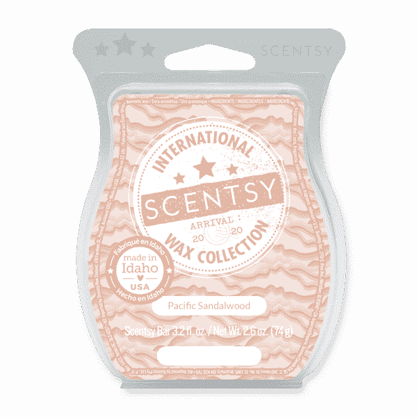 PACIFIC SANDALWOOD SCENTSY BAR