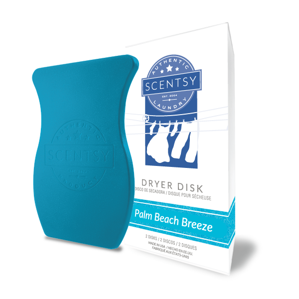 PALM BEACH BREEZE SCENTSY DRYER DISKS