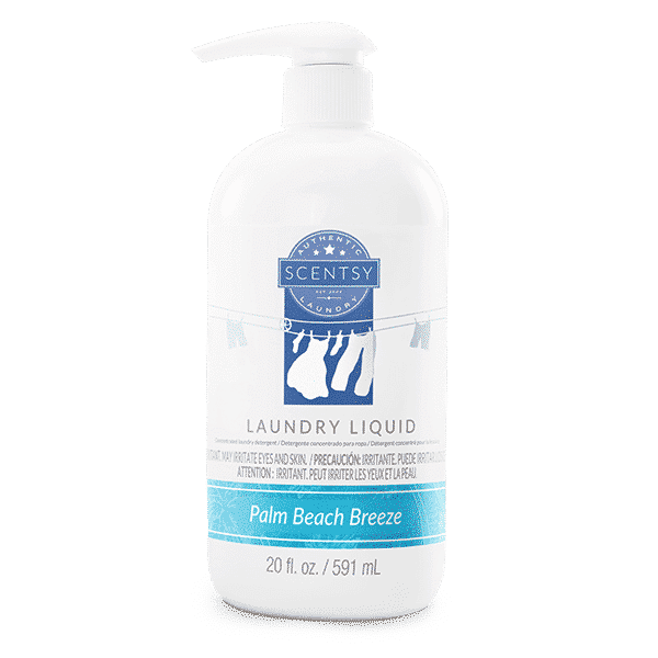 PALM BEACH BREEZE SCENTSY LAUNDRY LIQUID