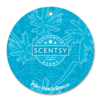 PALM BEACH BREEZE SCENTSY SCENT CIRCLE