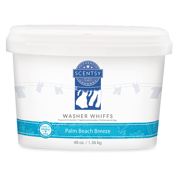PALM BEACH BREEZE SCENTSY WASHER WHIFFS TUB