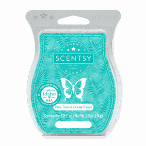 NEW! Palm Trees & Ocean Breeze Scentsy Bar | May 2021 | Incandescent.Scentsy.us