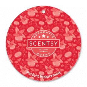 PERFECT PEPPERMINT SCENTSY SCENT CIRCLE