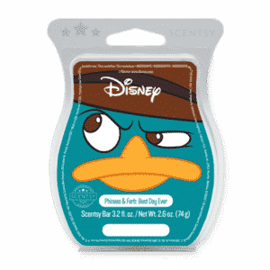PHINEASE FERB BEST DAY EVER SCENTSY BAR