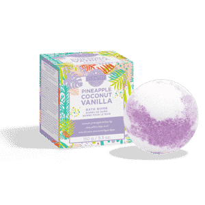 PINEAPPLE COCONUT VANILLA SCENTSY BATH BOMB
