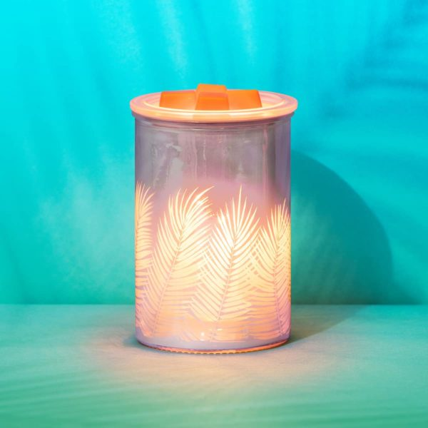 PINK PALM SCENTSY WARMER SUMMER 2021 SCENTSY | Pink Palm Scentsy Warmer | Summer 2021