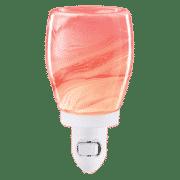 PINK WATERCOLOR NIGHTLIGHT MINI SCENTSY WARMER