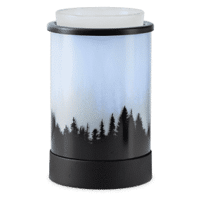 POLAR PANORAMA SCENTSY WARMER ON