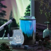 POLOR PANORAMA NORTHERN LIGHTS SCENTSY WARMER DECEMBER 2020 | Scentsy Discontinued Product List | Spring 2021