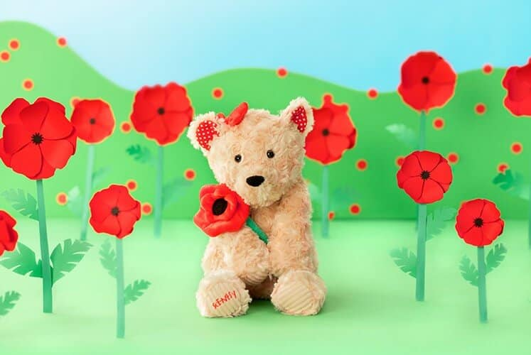 POPPY THE BEAR SCENTSY BUDDY INCANDESCENT