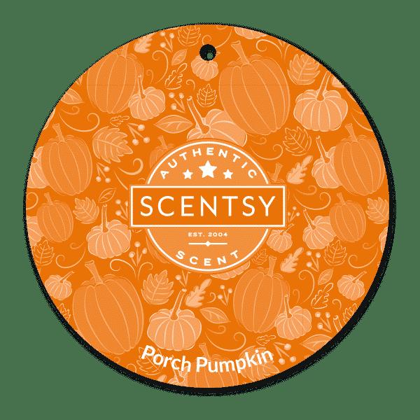 PORCH PUMPKIN SCENTSY SCENT CIRCLE