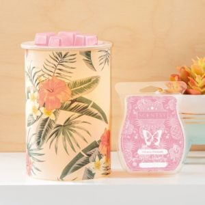 PRETTY IN PARADISE SCENTSY WARMER