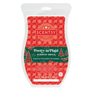 PRETTY IN PLAID SCENTSY BRICK