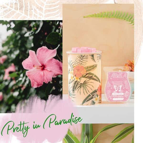 PRETTY PARADISE SCENTSY WARMER | Pretty Paradise Scentsy Warmer | Shop Scentsy | Incandescent.Scentsy.us